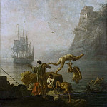 Bathing Men, Pierre-Jacques Volaire