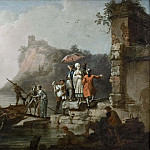 Company Embarking on a Launch, Pierre-Jacques Volaire