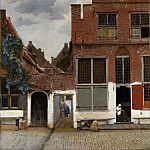 Johannes Vermeer - The Little Street