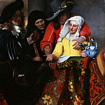 Johannes Vermeer - The Procuress