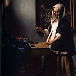 Johannes Vermeer - Woman_with_a_Balance