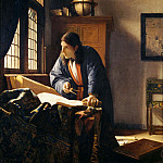 Johannes Vermeer - The Geographer