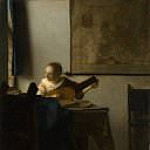 Woman with a Lute, Johannes Vermeer