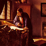 Ян Вермеер - Vermeer_The_Geographer