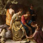 Johannes Vermeer - Diana and her Nymphs