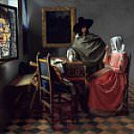 Johannes Vermeer - The Glass of Wine