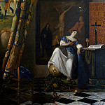 Johannes Vermeer - The allegory of faith