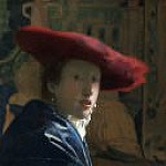 Johannes Vermeer - Girl with the Red Hat [attr.]