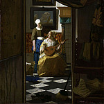 The Love Letter, Johannes Vermeer