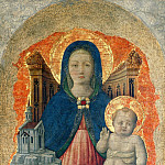 Giacomo Favretto - Madonna with Child