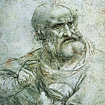 Study for an Apostle from The Last Supper, Leonardo da Vinci