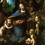 Madonna of the Rocks, Leonardo da Vinci