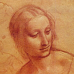 Head of a Woman, Leonardo da Vinci