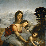 The Virgin and Child with Saint Anne, Leonardo da Vinci