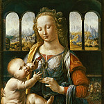 Madonna of the Carnation, Leonardo da Vinci