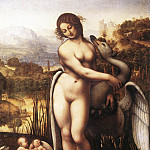 Leonardo da Vinci - Leda and the Swan (copy)