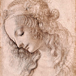 Head of Young Woman, Leonardo da Vinci