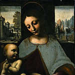 Leonardo da Vinci - Virgin and Child