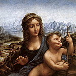 Madonna with the Yarnwinder, Leonardo da Vinci
