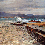 Cornelis Vreedenburgh - Vreedenburgh Cornelis Pier Inn The Bay Of Sst Tropez Sun