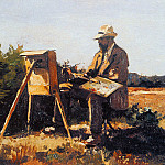 Cornelis Vreedenburgh - Vreedenburgh Cornelis Painter Jan Bakker At Work Sun
