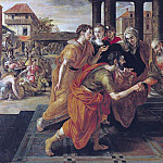 Laban Presenting Eliezer to his Father