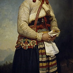 Abraham Wuchters - Girl from Dalarna