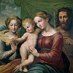 Girolamo Muziano - Marriage of Saint Catherine