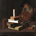 Unknown painters - The Sleeping Student