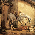 The Wounded Trumpeter, Horace Vernet