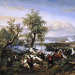 The Battle of Habra, Algeria, December 1835, Horace Vernet
