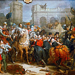 Henry IV Entering Paris, 22th March 1594, Horace Vernet