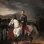 Charles Albert, King of Sardinia, Horace Vernet