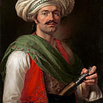 Portrait of a Mameluke, Said to Be Roustam Raza, Horace Vernet