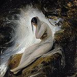THE MAIDEN'S LAMENT, Horace Vernet