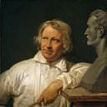 Bertel Thorvaldsen with the Bust of Horace Vernet, Horace Vernet