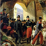 The Duc de Nemours entering Constantine, 15th October 1837, Horace Vernet