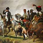 The Battle of Wagram, July 6th 1809 , Horace Vernet