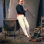 Self-Portrait, Horace Vernet