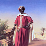 Portrait of an Arab, Horace Vernet