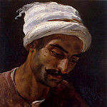 The head of the Arab, Horace Vernet