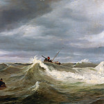 The Wave, Horace Vernet