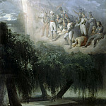 Allegory of Napoleons tomb in St. Helena, Horace Vernet