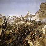 Siege of Constantine. Capture of the city, 13 October 1837, Horace Vernet