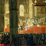 The Coronation of the Empress Maria Fyodorovna , Horace Vernet