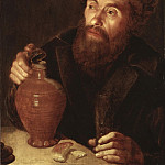 Old Man with a Jug [Attributed]