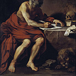Johan Baptista van Uther - The Vision of St Jerome