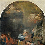 Jacques Courtois - Saint Peter Baptizing Saints Processus and Martinianus