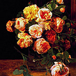 Ferdinand Georg Waldmüller - waldmueller_roses_by_the_window_1832