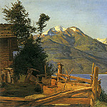 Фердинанд Георг Вальдмюллер - Zell am See in Pinzgau 1837